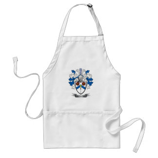 McClure Family Crest Coat of Arms Standard Apron