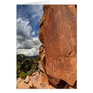 Mcconkie Ranch Petroglyph - Utah Card