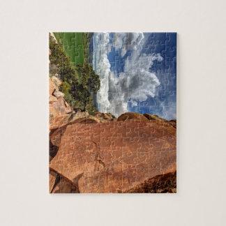 Mcconkie Ranch Petroglyph - Utah Jigsaw Puzzle