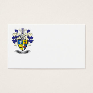McConnell Family Crest Coat of Arms Business Card