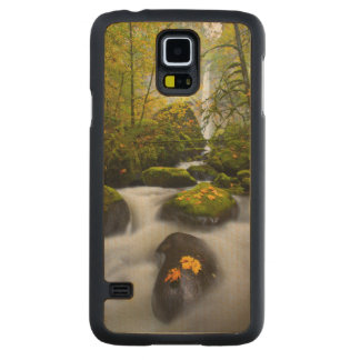 McCord Creek Bigleaf Maple | Columbia Gorge, OR Carved Maple Galaxy S5 Case