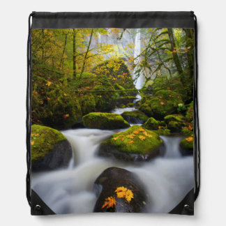 McCord Creek Bigleaf Maple | Columbia Gorge, OR Drawstring Bag