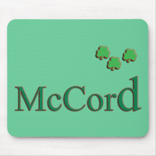 McCord Family Mouse Pad