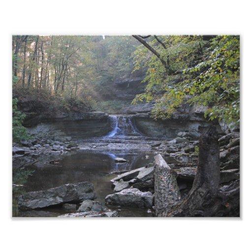 McCormicks Creek Canyon Falls Photograph