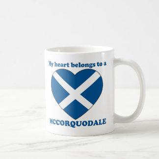 Mccorquodale Classic White Coffee Mug