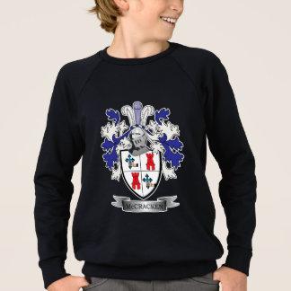 McCracken Family Crest Coat of Arms Sweatshirt