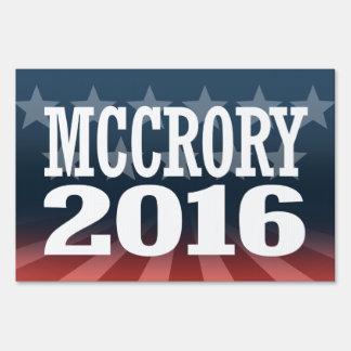 McCrory - Pat McCrory 2016 Sign