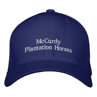 McCurdy Plantation Horses Embroidered Hat