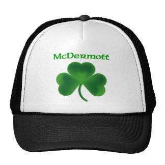 McDermott Shamrock Trucker Hat