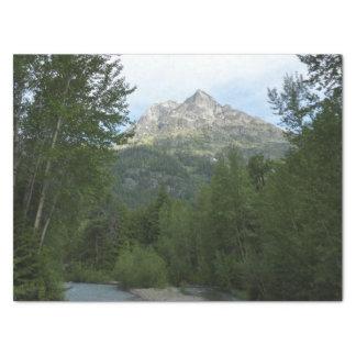 McDonald Creek at Glacier National Park Tissue Paper