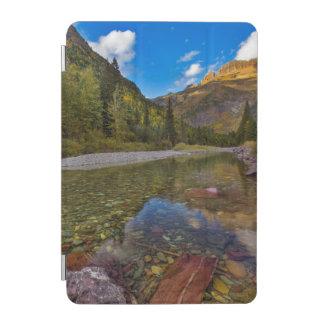 McDonald Creek in autumn with Garden Wall iPad Mini Cover