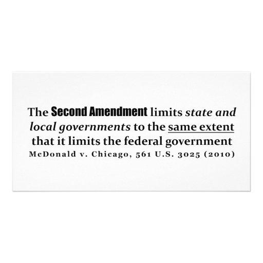 McDonald v. Chicago, 561 U.S. 3025 (2010) Photo Card