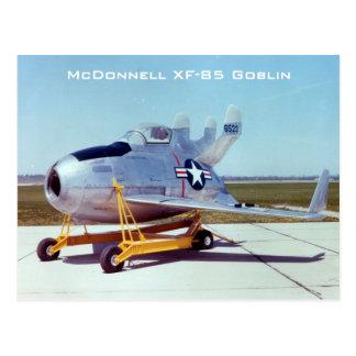 McDonnell XF-85 Goblin Postcard