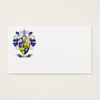 McDougall Family Crest Coat of Arms Business Card