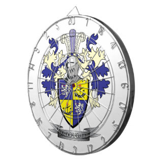 McDougall Family Crest Coat of Arms Dart Boards