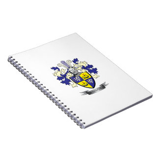 McDougall Family Crest Coat of Arms Notebook