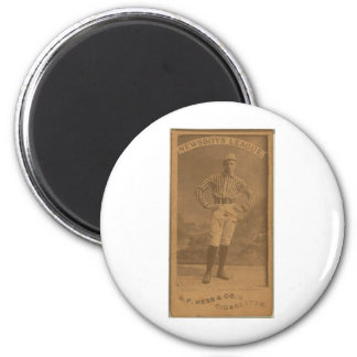 McDowell, Rochester Post Express 2 Inch Round Magnet
