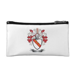 McFadden Family Crest Coat of Arms Cosmetic Bag