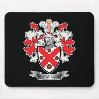 McFarland Family Crest Coat of Arms Mouse Pad