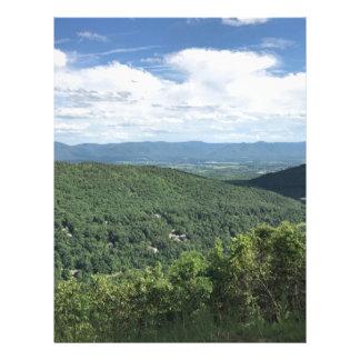 McGaheysville, Virginia Mountain View Letterhead