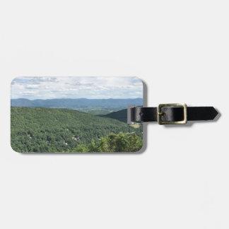 McGaheysville, Virginia Mountain View Luggage Tag
