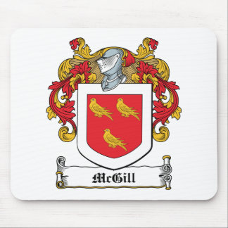 McGill Family Crest Mouse Pad