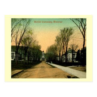 McGill university, Montreal, Canada Vintage Postcard
