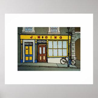 McGing's Bar, Westport, Ireland Poster
