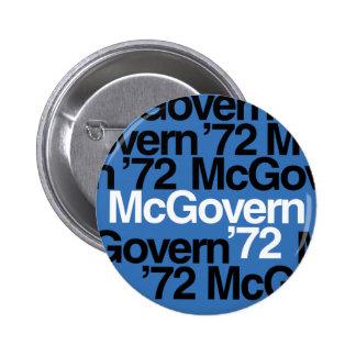 McGovern '72 Campaign Button