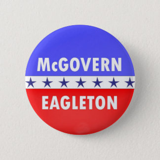 McGovern Eagleton 2 Inch Round Button