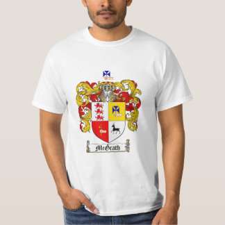 Mcgrath Family Crest - Mcgrath Coat of Arms T-Shirt
