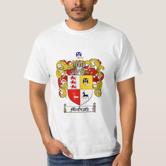 Mcgrath Family Crest - Mcgrath Coat of Arms T-Shirt