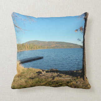 McGregor Lake Throw Pillow