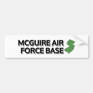 McGuire Air Force Base, New Jersey Bumper Sticker