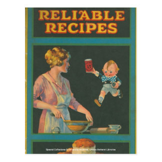 McIntosh Cookery Collection Postcard