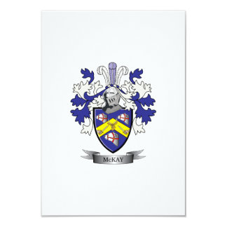 McKay Family Crest Coat of Arms Card
