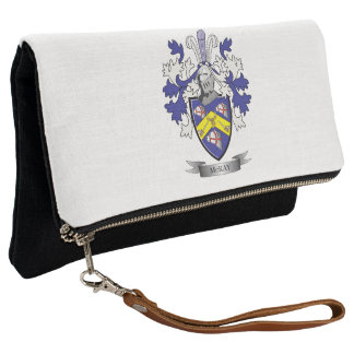 McKay Family Crest Coat of Arms Clutch