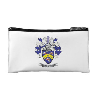 McKay Family Crest Coat of Arms Cosmetic Bag