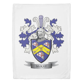 McKay Family Crest Coat of Arms Duvet Cover