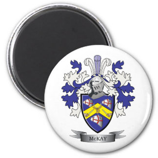 McKay Family Crest Coat of Arms Magnet