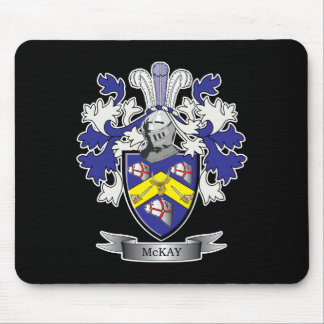 McKay Family Crest Coat of Arms Mouse Pad