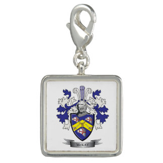 McKay Family Crest Coat of Arms Photo Charm