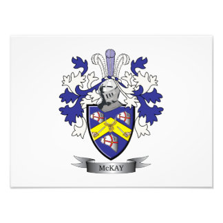 McKay Family Crest Coat of Arms Photo Print