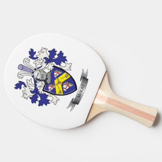 McKay Family Crest Coat of Arms Ping Pong Paddle