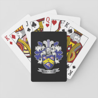 McKay Family Crest Coat of Arms Playing Cards