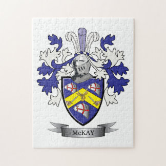 McKay Family Crest Coat of Arms Puzzle