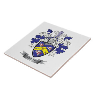McKay Family Crest Coat of Arms Tile