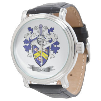McKay Family Crest Coat of Arms Watch