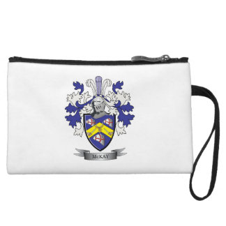 McKay Family Crest Coat of Arms Wristlet