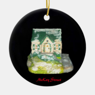 MCKAY STREET COLLECTOR CHRISTMAS ORNAMENT